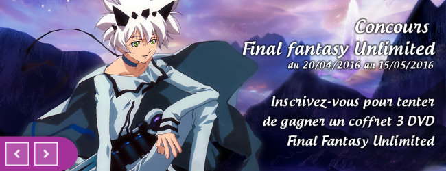 Concours Final Fantasy Unlimited